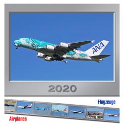 Letecký kalendář Airplanes - 2020