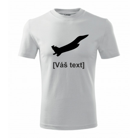 Your -  printed T-shirt with motive of a military, of your choice and your text
