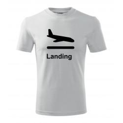 SESTAVTE SI: Triko s motivem letiště,dle výběru a vlastním textem