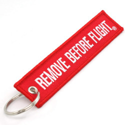 Keychan REMOVE BEFORE FLIGHT