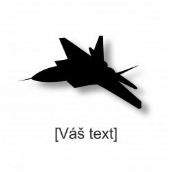 SESTAVTE SI: řezaná samolepka s motivem vojenské dle výběru a Vaším textem