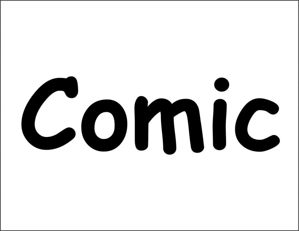 Comic sans